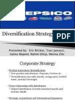 PepsiCo's Diversification Strategy in 2008
