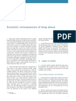 Drug Abuse and Economy Cost