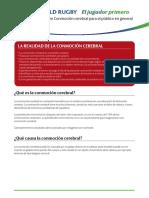 Guía sobre Conmoción cerebral para el público en general    World Rugby