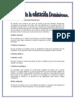 El Contexto de La Educación Dominicana Tema 1