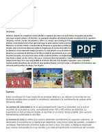 Breve Definicion e Historia Del Atletism