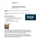 Configuring AutoCADPlant3DIsometrics