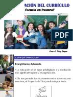 CONFERENCIA-TALLER 2 -  EVANGELIZACIÓN DEL CURRÍCULO I - OSCAR PÉREZ.ppt