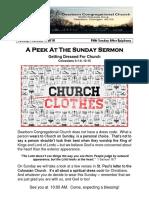 Pastor Bill Kren's Newsletter - February 4, 2018