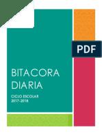 BITACORA DIARIA