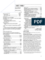 CSU Bakersfield 1987_1989 Schedule of Fees