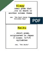 Literary Elements