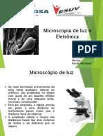 Microcopia eletrônica