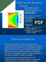 Thermal Analysis Rectangular Bar Tutorial