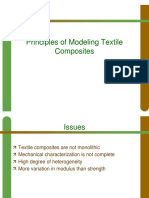 Pricnciple of Modeling Textile Composite