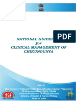 National Guidelines Clinical Management Chikungunya 2016