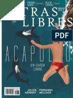 Portada e índice Letras Libres México / España, febrero 2018