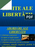 8. Limite Ale Libertatii