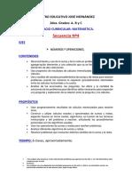 !! 2017- Secuencia 3 de Matematica
