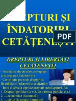 10. Drepturi Si Indatoriri Cetatenesti
