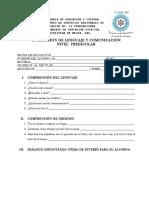 evaluacindecomunicacinylenguajepreescolar-111025140422-phpapp02