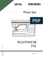 Husqvarna PB 775 Platinum