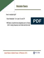 Modulator Basics