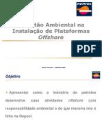 A Gestao Ambiental Na Instalacao de Plataformas Offshore