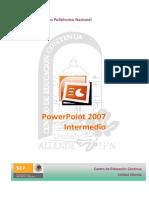 Manual de Power Point 2007 Intermedio