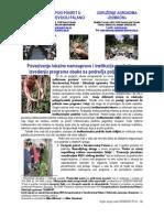 Povezivanje lokalne samouprave i institucija za obuku u izvođenju programa obuke sa područja poljoprivrede