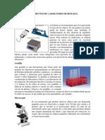 Instrumentos de Laboratorio de Biología