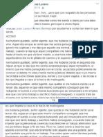 Carta de Lorena Rodríguez