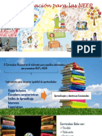 Currículum y Evaluación Para Las NEE