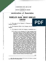 Barclays Bank Trust