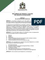 5 Reglamento de Tránsito y Vialidad Del Municipio de Monterrey