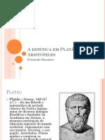 A Estética Em Platão e Aristóteles