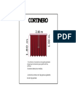Cortinero 2.00 x 1.80