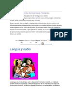 Temario de Comunicacion y Lenguaje