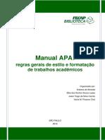 Manual APA Regras Gerais de Estilo e Formatação de Trabalhos Acadêmicos