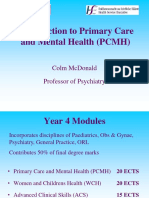 Introduction to PCMH 2017