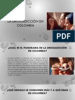 La Drogadicción en Colombia