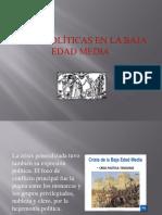 Crisis Políticas en La Baja Edad Media