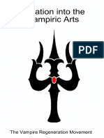 Initiation Into the Vampiric Ar - Vampire Regeneration