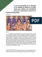 Tras Las Huellas de La Corporalidad en La Dimensión Performativa de Las Cantigas de Alfonso X, el Sabio