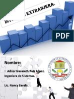 Inversión Extranjera Economia 2.pptx