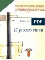 TURNER, V. El Proceso Ritual