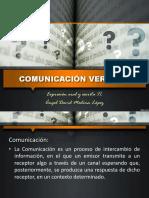Comunicación Verbal 1