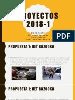 PROYECTOS 2018-1
