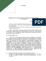 Kolakowski- Como ser un socialista conservador liberal un credo.pdf