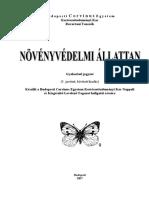 Rovartan gyakorlati jegyzet/Növényvédelmi állattan