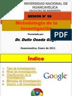 Sesion 6 Metodologia de La Investig