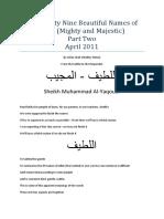 The Ninety Nine Beautiful Names of Allah april 2011 pdf.pdf
