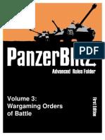The Advanced Panzer Blitz to&E Book Version 10