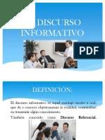 El Discurso Informativo