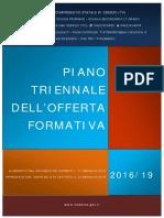 Piano triennale offerta formativa 2016/2019